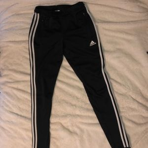 black adidas sweats